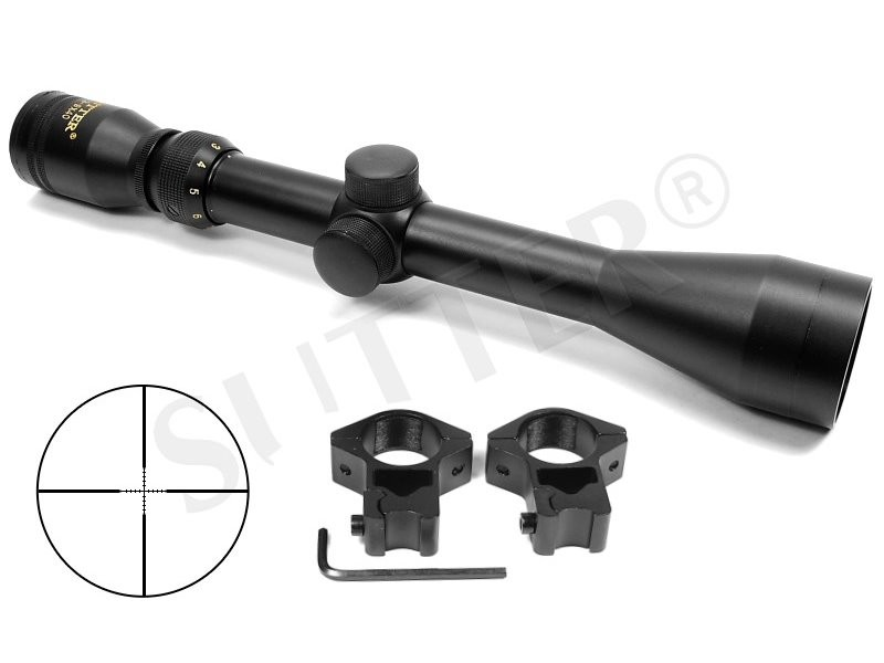 Rifle Scope 3-12x40 d=25,4 Mildot