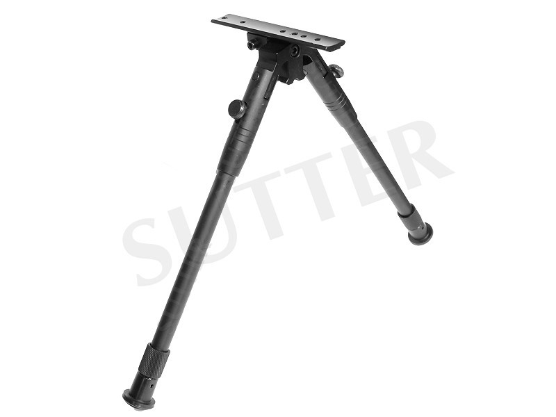 Universal Barrel Mounting Bipod with 21mm rail - Height: 24-33 cm