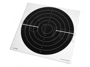 Targets 55x53cm (black) with slots - 20 pack