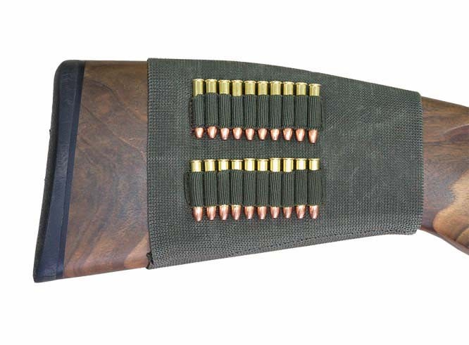 Rubber Piston Skirt Case - For 20x Small Caliber Shells cal. 22 Lfb.