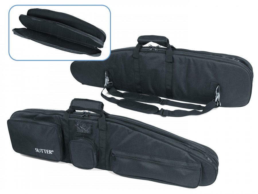 PREMIUM Double Rifle Bag 125x37cm - For Two Shoulder Arms with Optics
