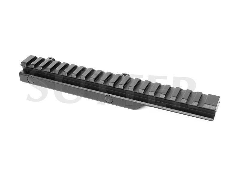 Offset Height Adapter Rail Mount l=205mm, 11mm to 21mm