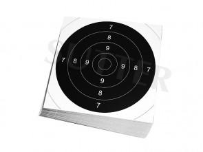 Insert Targets 21x21cm (white) - 50 Pack