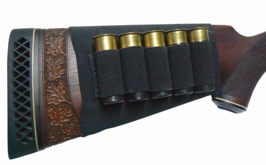 Rubber Piston Skirt Case - For 5x Shotgun Shell Cal. 12/16