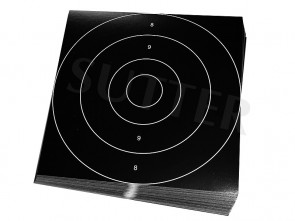 Insert Targets 26x26cm (black) - 50 Pack