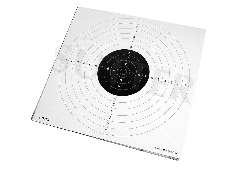 Targets 55x53cm (white) with slots - 20 pack