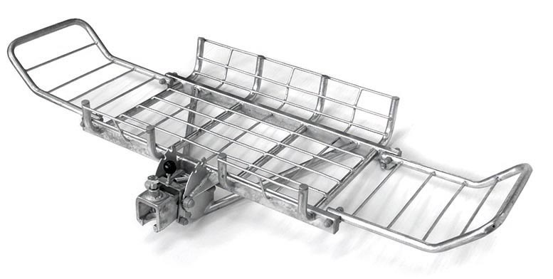 Car Rear Carrier with Tip Mechanic