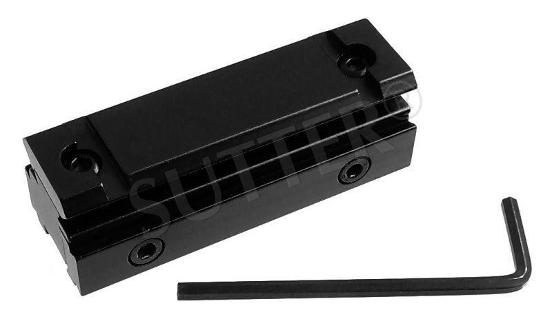 Multiadapter, Adapter Schiene 11-13mm auf 19-21mm