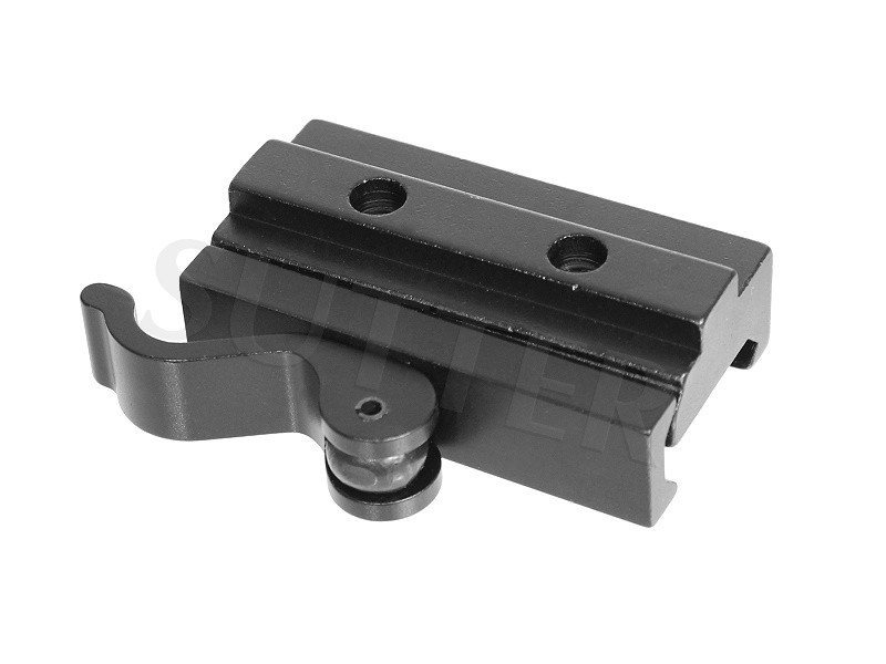 Quick Release Height Adapter Mounting Rail 55mm for 19-22mm rails