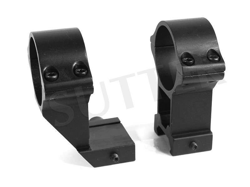 Offset Ring Mounts d=30 h=60 Extra Strong * For 19-22mm Rails