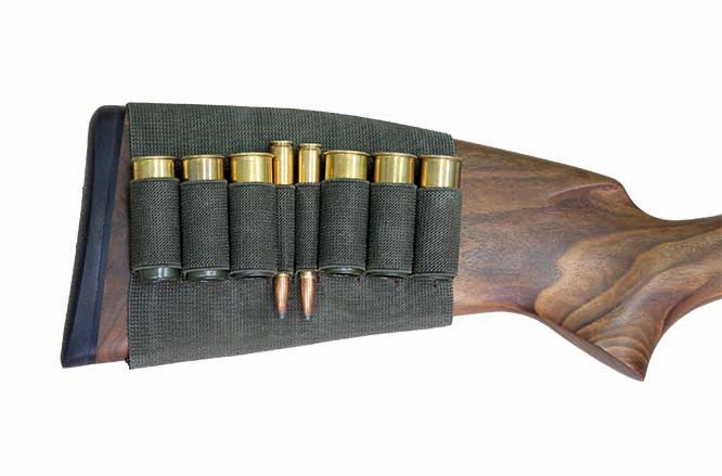 Rubber Piston Skirt Case - For 2x Rifle Shell and 6x Shotgun Shell