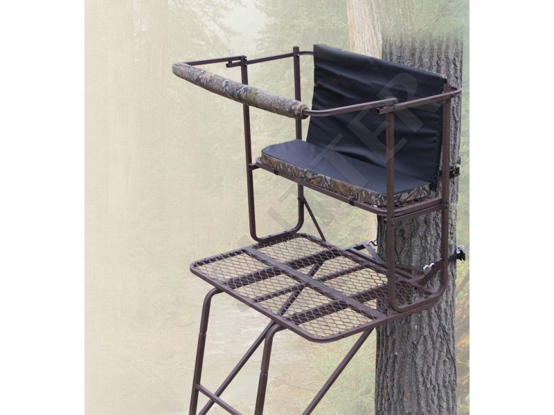 Portable 2-Man Ladder Stand & Raised Hide 5,0m - A15