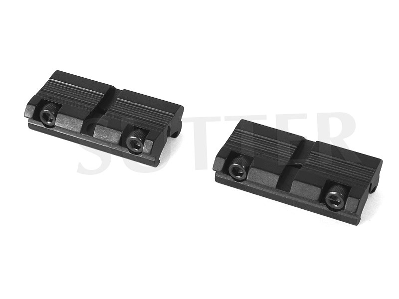 Two Piece Adapter Rail 11-13mm to 21mm Multi Adapter, Adapter Rail 11-13mm to 19-21mm