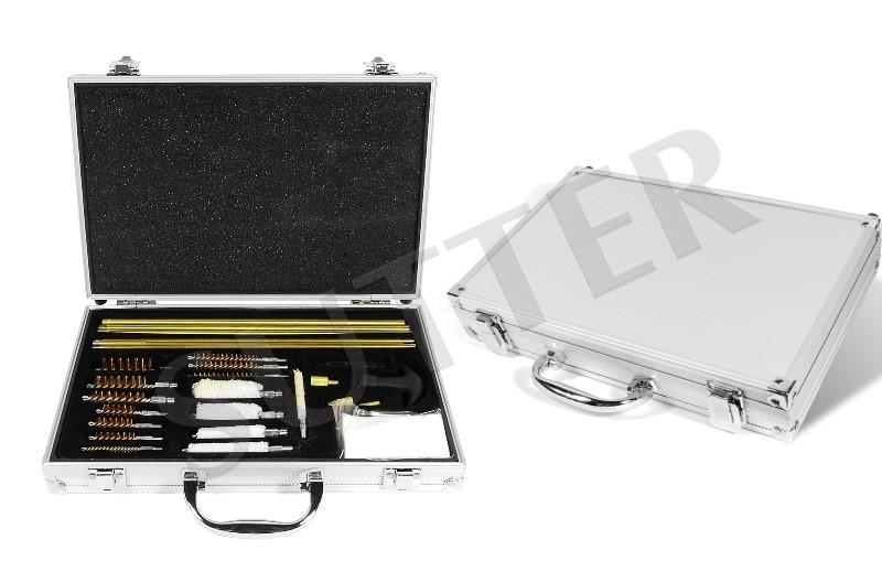 7pc 4.5MM 5.5MM Gun Cleaning Kit Rifle Shooting Equipment Barrel Gauge Brush