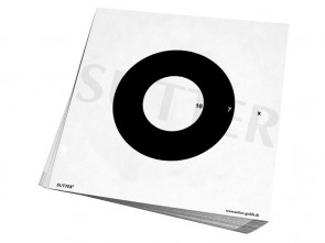 Insert Targets 26x26cm (white) - 50 Pack