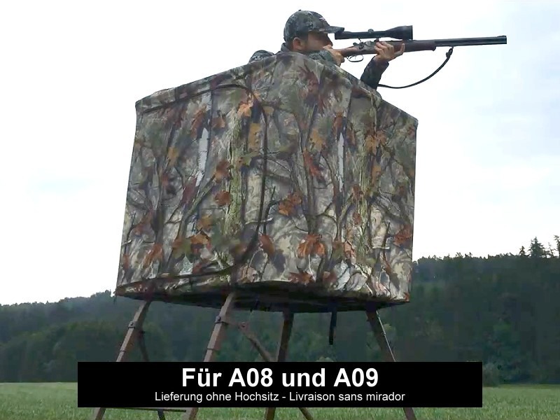 Camouflage Curtain Blind - For Raised Hide A07 and A08