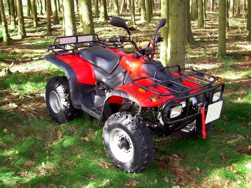 Workshop Manual for Linhai ATVs