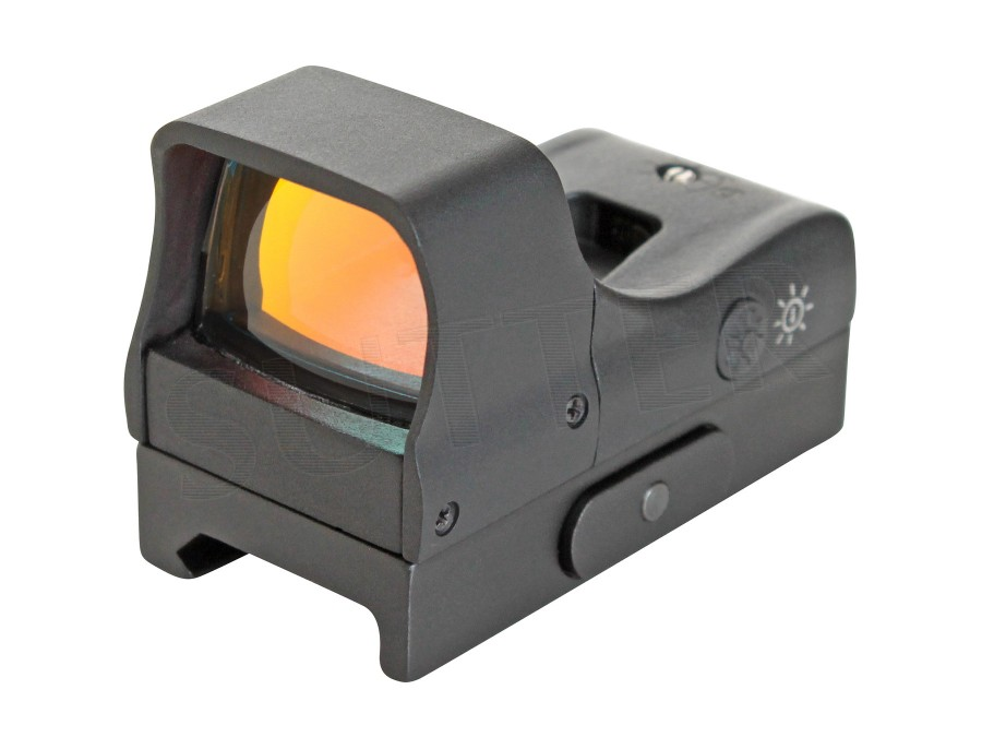 Red-Dot 1x22 Sight - With two brightness levels for Weaver and Pic. rail