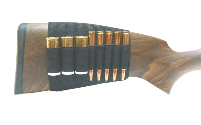 Rubber Piston Skirt Case - For 5x Rifle Cartridge and 3x Shotgun Shell