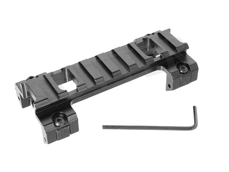 Height Adapter Mounting Rail / Length: 90 mm / Fits weaver and Picatinny rails