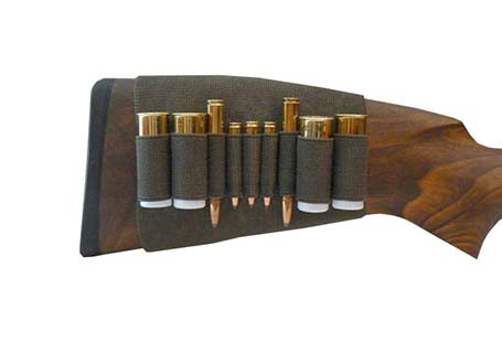 Rubber Piston Skirt Case - For 3x Small Calibre Bullet, 2x Rifle Cartridge and 4x Shotgun Shell